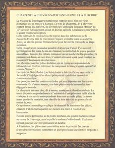 Histoire de La Charpente